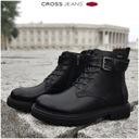 Botki CROSS Jeans damskie czarne buty EE2R4086 37 Rozmiar 37