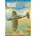 ОАК 12/16 - истребитель LWS-4 (PZL.39) 1:33 доставка товаров из Польши и Allegro на русском