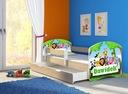 Łóżko dziecięce 140x70 szuflada materac Dąb Sonoma Kod producenta AII140x70DS