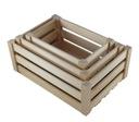 ящики деревянные комплект 3 в 1 деревянные коробка