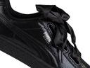 Buty,sneakersy damskie Puma Basket Heart 364108 01 Kolor czarny