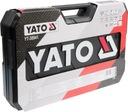 ZESTAW KLUCZY 225 el KLUCZE NASADOWE YATO YT-38941 Waga produktu z opakowaniem jednostkowym 10 kg