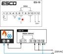 REGULATOR TEMPERATURY TERMOSTAT sterownik czujnik Kod produktu ESCO ES10