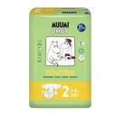 MUUMI Pieluszki ekologiczne 2 MINI (3-6kg) 58szt.