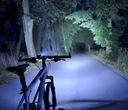 Zestaw LED tył przód XPG500 na USB lampka rowerowa Waga 91 g