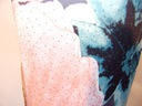 letnia sukienka pastelowa z kryształkami 36/38 Kolor czarny wielokolorowy