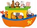 Dumel Arka Noego Interaktywna mówi PL Zwierzątka Wiek dziecka 12 m +