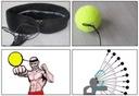 Piłka Refleksowa FIGHT REFLEX BALL Refleksówka MMA Waga (z opakowaniem) 0.1 kg