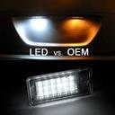 LAMPKI LED PODŚWIETLENIE Audi A4 B6 B7 A6 C6 A3 8P Waga (z opakowaniem) 0.4 kg