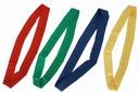 Szarfy gimnastyczne parciane 120cm szkolne-komplet Kod producenta 3006