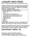 Niefiltrowana instagram масло оливкового Liokarpi 5Л