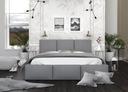 Łóżko tapicerowane stelaż materac 160x200 AMBER Rozmiar 160x200