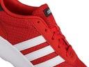 Buty, sneakersy męskie Adidas Lite Racer F34647 Kolor biały czerwony