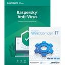 Kaspersky Anti-Virus, 1 ПК/1 год + WinOptimizer 17 доставка товаров из Польши и Allegro на русском