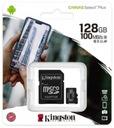 KINGSTON KARTA 128 GB MICRO SD CLASS 10 + CZYTNIK Model SDCS2/128GB