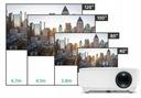 RZUTNIK PROJEKTOR OVERMAX MULTIPIC 2.4 LED HD WIFI Model Multipic 2.4