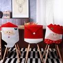 10 x Pokrowiec Świąteczny krzesło CZAPKA MIKOŁAJA EAN 5902557358953