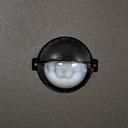 Lampa Ogrodowa do LED E27 Słupek 44cm CZUJNIK RUCH Kształt oprawy prostokąt