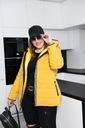 Cavaricci SPORTOWA kurtka PLUS SIZE pikowana 2XL Kolor czarny czerwony ecru granatowy khaki żółty, złoty zielony