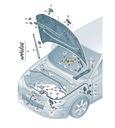 WYZWALACZ OCHRONY PIESZYCH AUDI A3 8V RS3 VL1 ASO Producent części Audi OE