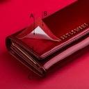 BETLEWSKI portfel damski skórzany lakierowany RFID Kolor okuć złoty