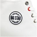 Trampki damskie Big Star białe koturny EE274616 39 Oryginalne opakowanie producenta pudełko