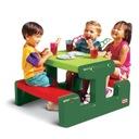 LITTLE TIKES Stół Stolik piknikowy zielony 479A