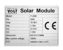 PANEL SOLARNY BATERIA SŁONECZNA 40W 12V REGULATOR Waga produktu z opakowaniem jednostkowym 4 kg