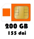 Internet na kartę 200GB Orange Free 155 dni LTE