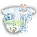 MUUMI Pieluszki ekologiczne NEWBORN (2-5kg) 25szt. Waga dziecka 2-5 kg