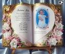 памятка Святого Крещения от Крестной Матери ,Отца