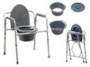 Krzesło toaletowe składane dla seniorów sedesowe 7881728036