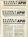 ЖУРНАЛ ЛАГЕРНЫЙ APW 1944 ГОД 68 экз. дополнения PES доставка товаров из Польши и Allegro на русском