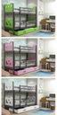 Łóżko MIKO 190x80 dla dzieci piętrowe + BARIERKA Bohater inny