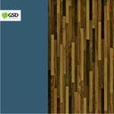 Blat egzotyczny CZARNA LIMBA | OFRAM 40x650x2500mm Waga (z opakowaniem) 1 kg