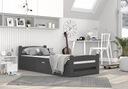 Łóżko DAWID 90x200 podnoszone automat + materac Wysokość mebla 200 cm