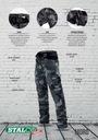 брюки рабочие камуфляж BHP Съемные STALCO 2 в 1 L
