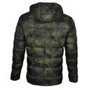 Kurtka męska zimowa z kapturem pikowana moro r.XL Płeć Produkt męski