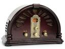 Radioodbiornik Retro RD-168 DarTel, FM, AM wiśnia