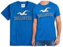 t-shirt męski HOLLISTER by Abercrombie logo L
