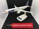 Модель самолета Boeing 737 MAX Авиакомпании ПОЛЕТ доставка товаров из Польши и Allegro на русском
