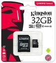 KINGSTON KARTA PAMIĘCI MICRO SD 32 GB CLASS 10 UHS Typ karty microSD (SDHC)