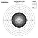 Tarcze strzeleckie Ppn do kulochwytu 14x14cm 100sz