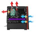 GENESIS TITAN 700 Obudowa GAMING PC CASE ATX LED Maksymalna długość karty graficznej 380 mm