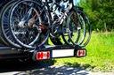 STORM 4 - Bagażnik uchwyt rowerowy na hak 4 rowery Punkt mocowania roweru rama koło