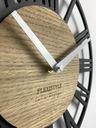 Модный тихий часы instagram Черный чердак PICCOLO30cm