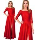 -50% PRZECENA Sukienka z Koronki czerwona Roz 38