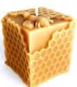 świeca z naturalny wosk pszczeli eko podziękowanie