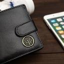 BETLEWSKI Skórzany portfel męski mały skóra RFID Waga (z opakowaniem) 0.15 kg