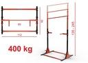 DRĄŻEK STACJONARNY DO PODCIĄGANIA +DIP 400kg ZIDER Waga produktu z opakowaniem jednostkowym 25 kg